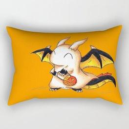 Trick or Treat Dragon Rectangular Pillow