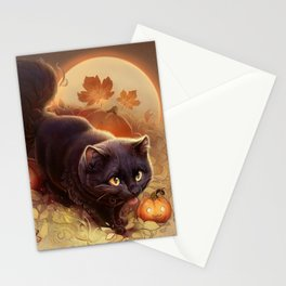 Halloween Kitty 2019 Stationery Cards