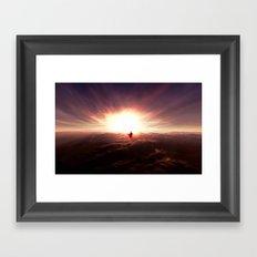 Ad lucem (Towards the light) Version 2 Framed Art Print