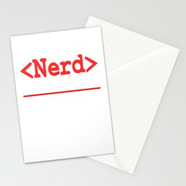 """Nerd and rockstar at the same time? You can be both with this """"Nerd Intellectual Rockstar Tee"""" Stationery Cards"""