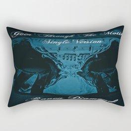 Goin' Through The Motions Rectangular Pillow