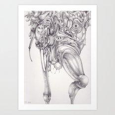 Qalbu Art Print