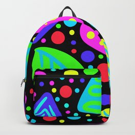Bright Vivid Graphic Print Backpack