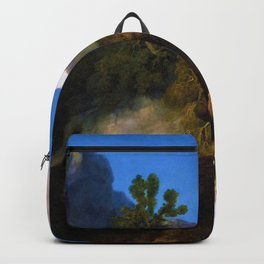 Horse Frightened By A Lion - George Stubbs Backpack
