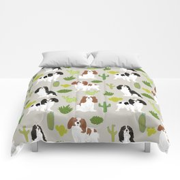 Cavalier King Charles Spaniel must have gift accessories for dog breed owner king charles dog Comforters