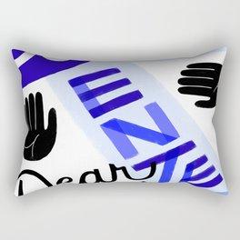 Do Not Enter, Dear Rectangular Pillow