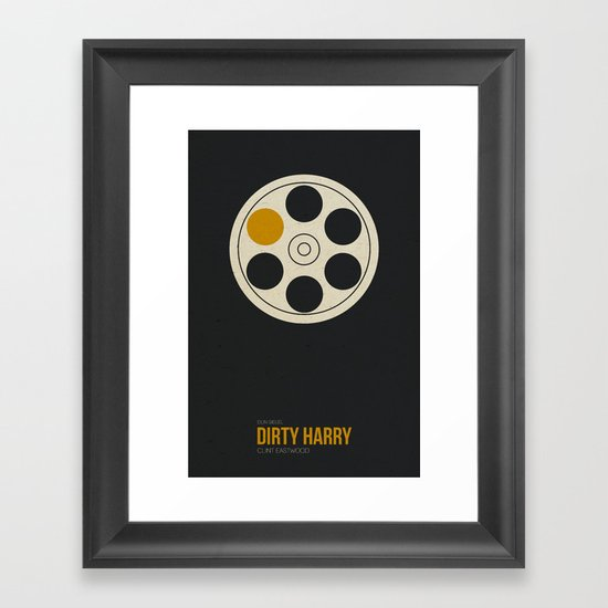 Dirty Harry Framed Art Print