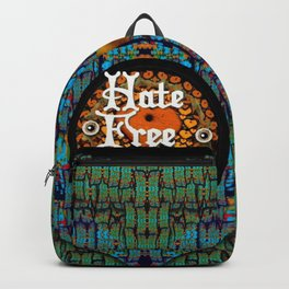 Hate Free Zone Backpack