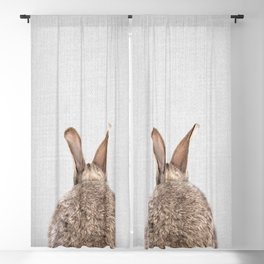 Rabbit Tail - Colorful Blackout Curtain