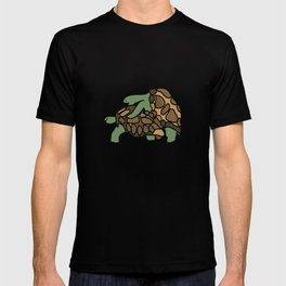 Turtle Galapagos mate love mating  T-shirt