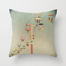1975 Ride Throw Pillow