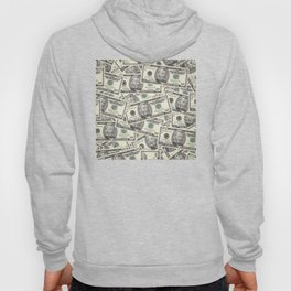 Collage of Currency Graphic Hoody