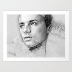 Charcoal Drawing No. 2 Art Print