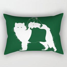 Mother of Wolves Rectangular Pillow