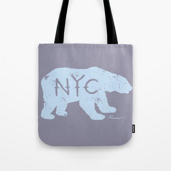 Polar Bear NYC aka Polar Opposites Tote Bag