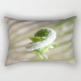Fiddlehead Abstract Rectangular Pillow