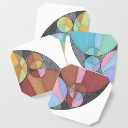 Eight Circles in a Circle Coaster