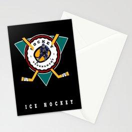 Ice hockey Stationery Cards
