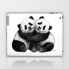 Panda's Hugs G143 Laptop & iPad Skin