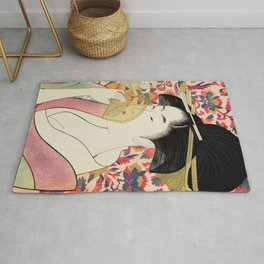 The Shy Girl Rug