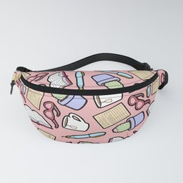 Book Club in Pink Fanny Pack