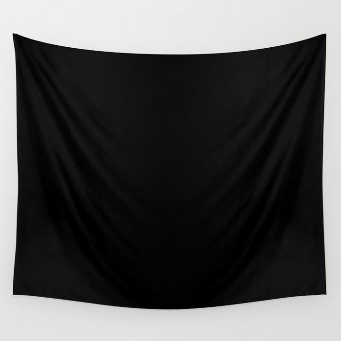 Simply Midnight Black Wandbehang