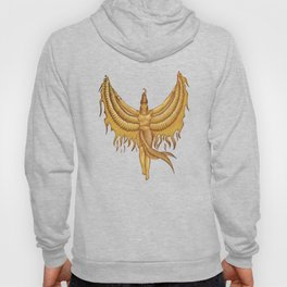 Isis, Goddess Egypt with wings of the legendary bird Phoenix Hoody