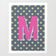 M is for Magical Art Print