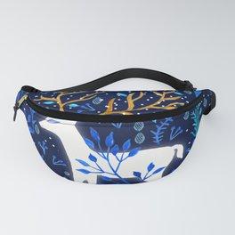 Deericorn In Blue Fanny Pack