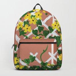 Black-Eyed Susans on Browns Backpack