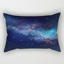 Floating Stars - #Space - #Universe - #OuterSpace - #Galactic Rectangular Pillow