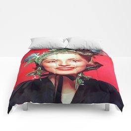 Eleanor Parker, Vintage Actress Comforters