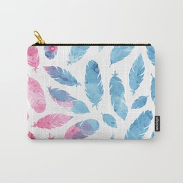 Peaceful Feather Carry-All Pouch