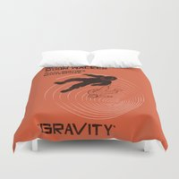 gravity falls Duvet Covers featuring GRAVITY by Resistance