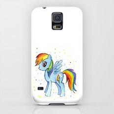 Rainbow Dash MLP Pony Slim Case Galaxy S5