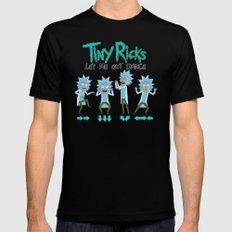 Tiny Ricks Dance Moves Mens Fitted Tee Black MEDIUM