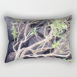 Black Rock Rectangular Pillow