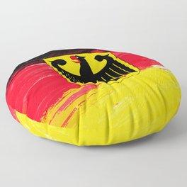 Germany's Flag Design Floor Pillow