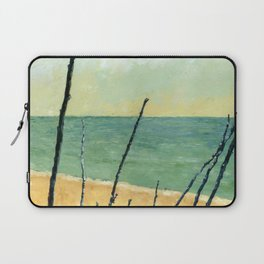 Branches on the Beach Laptop Sleeve