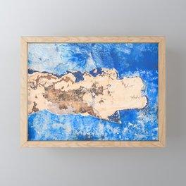 Damaged shipboard Framed Mini Art Print