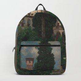 Martín Rico - A Spanish Garden Backpack