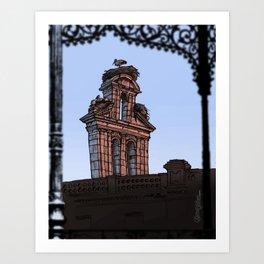Bell Gable (color) Art Print