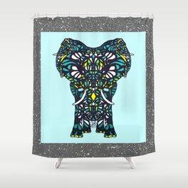 Spirit Elephant Shower Curtain