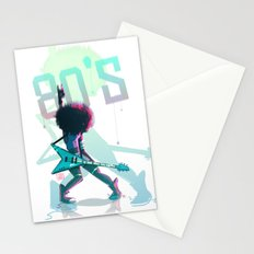 Rock 80's Stationery Cards