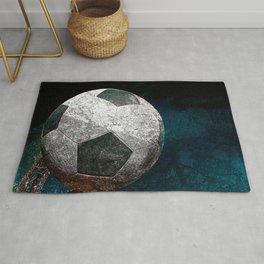 Soccer art print work vs 1 Rug