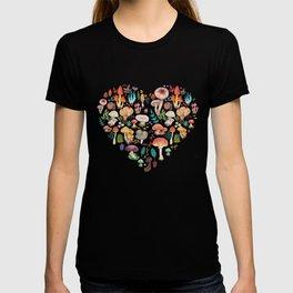 Mushroom heart T-Shirt
