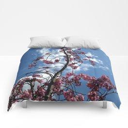 Cherries in the Sky Comforters