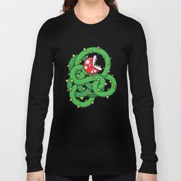 Audrey II: The Piranha Plant Long Sleeve T-shirt