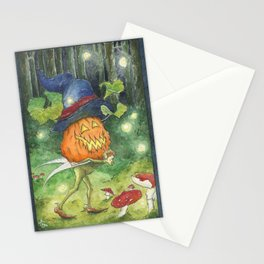 Faerie Preparations for All Halllows'een Stationery Cards
