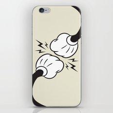 Fist Bump! iPhone & iPod Skin